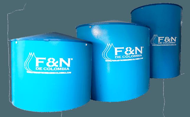 Tanques de agua en fibra de vidrio de alta resistencia